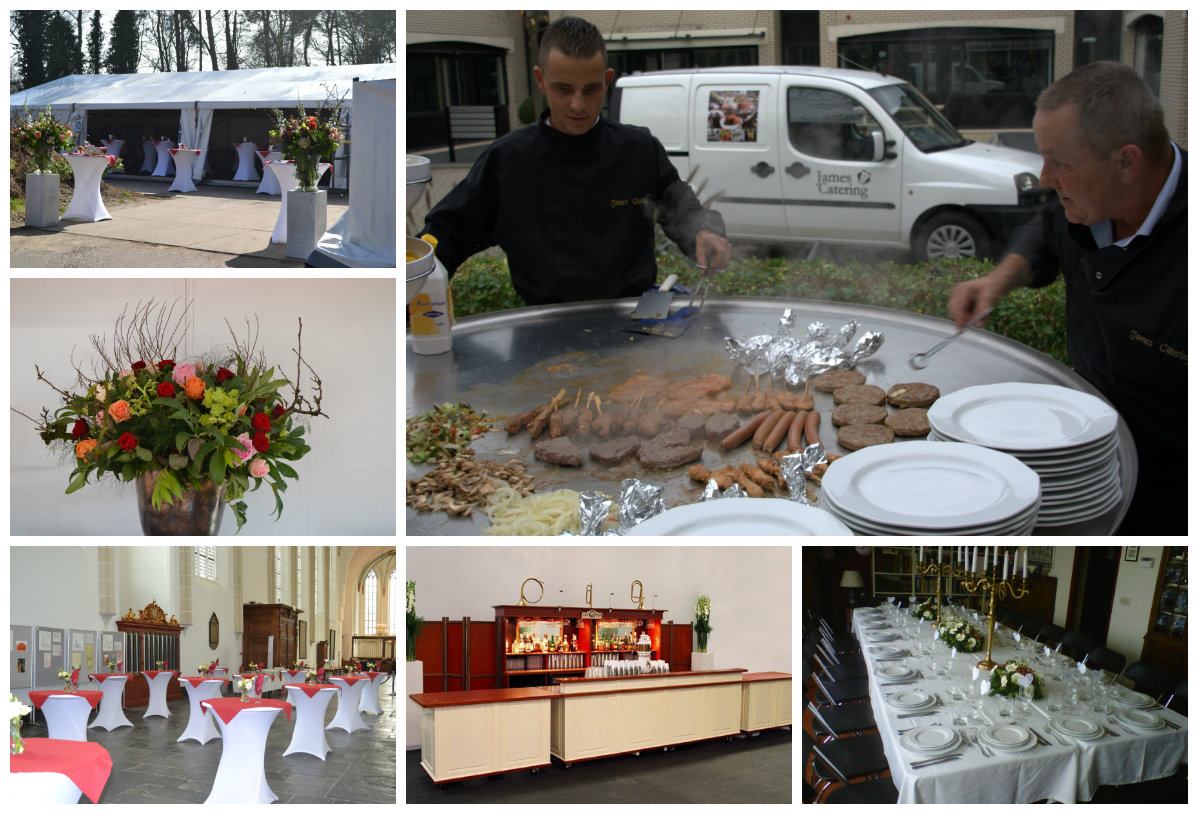 James Catering Partyverhuur Utrecht