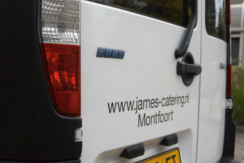 James Catering -Bedrijfswagen
